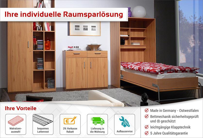 schrankbett kaufen schrankbetten schrankwand mit schrankbett liegefl che cm in. Black Bedroom Furniture Sets. Home Design Ideas