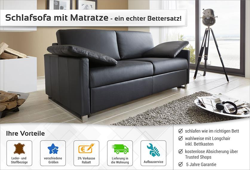 schlafsofa mit lattenrost und matratze schlafsofa mit matratze 160 200 m belideen. Black Bedroom Furniture Sets. Home Design Ideas