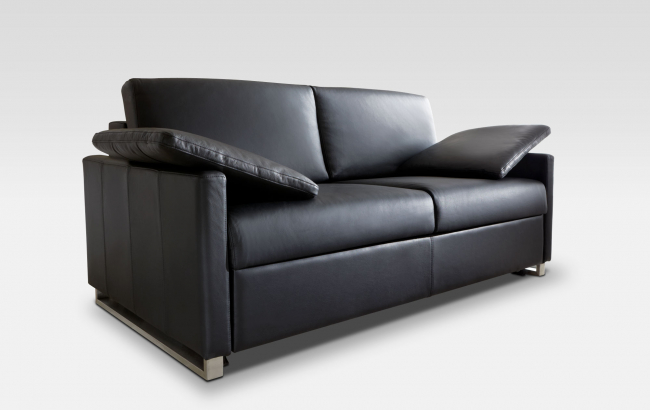 schlafsofa leder designen kaufen sessel. Black Bedroom Furniture Sets. Home Design Ideas