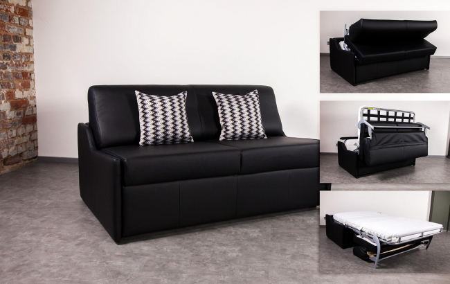 bettsofa mit matratze. Black Bedroom Furniture Sets. Home Design Ideas