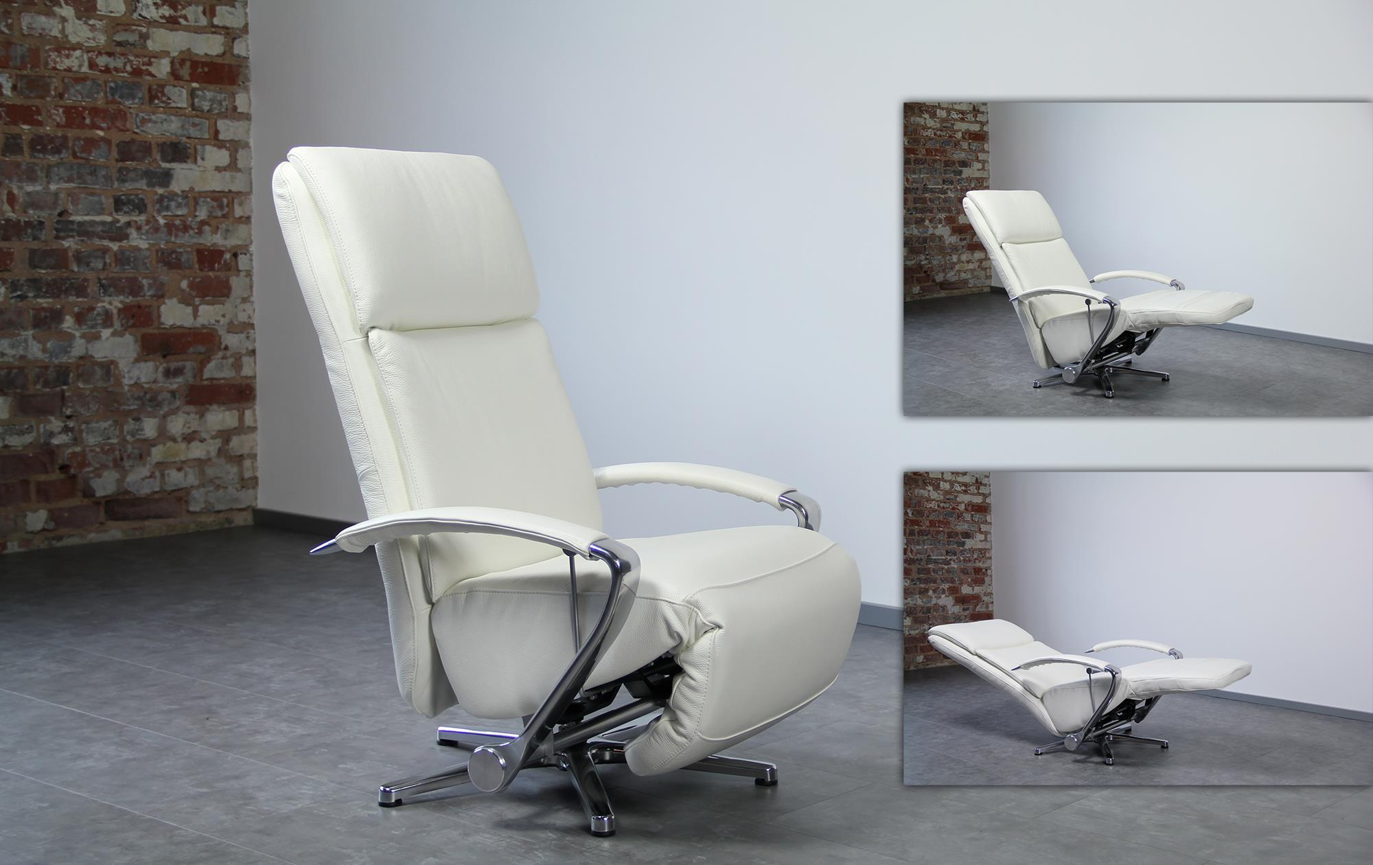 Relaxsessel pure im showroom sessel for Sessel mit schlaffunktion