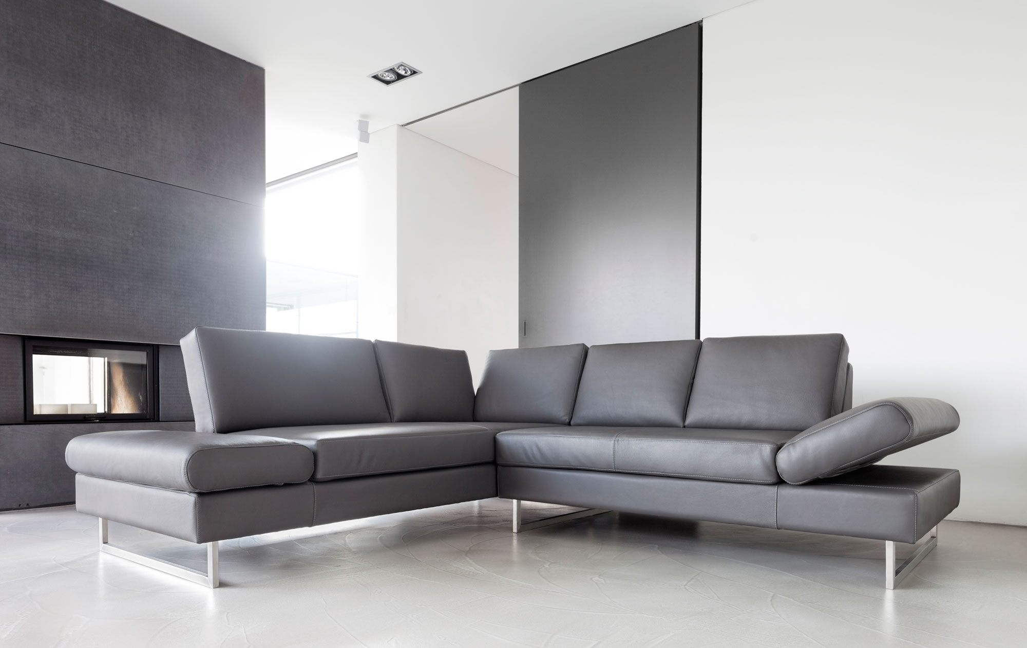 Sofa Essen In Leder Sessel Manufakturde